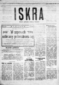 Iskra. Dziennik polityczny, społeczny i literacki, 1918, R. 9, nr 37