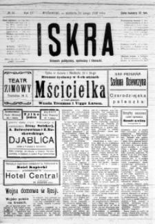 Iskra. Dziennik polityczny, społeczny i literacki, 1918, R. 9, nr 45