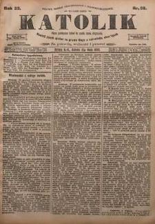 Katolik, 1900, R. 33, nr 56