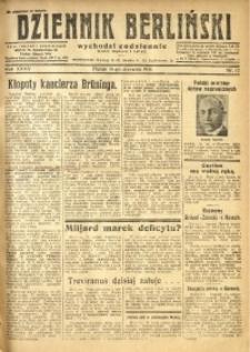 Dziennik Berliński, 1931, R. 35, nr 12