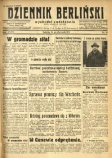 Dziennik Berliński, 1931, R. 35, nr 19