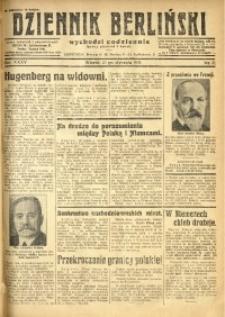 Dziennik Berliński, 1931, R. 35, nr 21