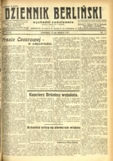 Dziennik Berliński, 1931, R. 35, nr 72