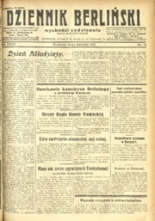 Dziennik Berliński, 1931, R. 35, nr 94