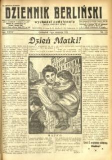 Dziennik Berliński, 1931, R. 35, nr 125