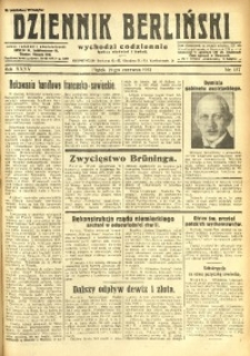 Dziennik Berliński, 1931, R. 35, nr 137