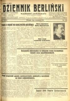 Dziennik Berliński, 1931, R. 35, nr 205