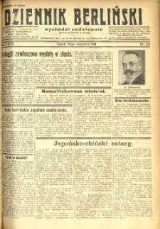 Dziennik Berliński, 1931, R. 35, nr 218