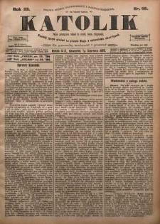 Katolik, 1900, R. 33, nr 66