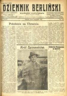 Dziennik Berliński, 1931, R. 35, nr 263