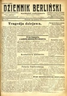 Dziennik Berliński, 1931, R. 35, nr 281