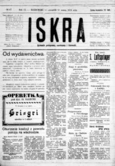 Iskra. Dziennik polityczny, społeczny i literacki, 1918, R. 9, nr 67