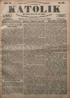 Katolik, 1900, R. 33, nr 80