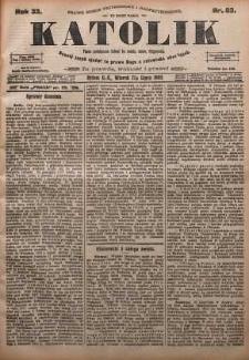 Katolik, 1900, R. 33, nr 83
