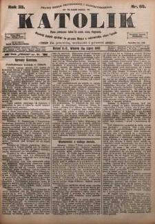 Katolik, 1900, R. 33, nr 89