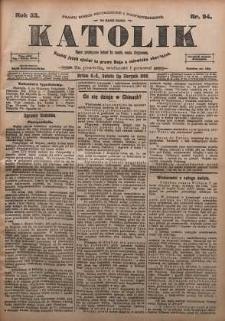 Katolik, 1900, R. 33, nr 94