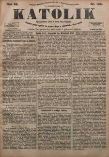 Katolik, 1900, R. 33, nr 105