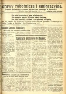 Sprawy Robotnicze i Emigracyjne, 1931, nr 12