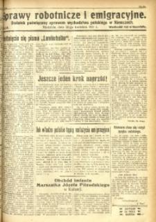 Sprawy Robotnicze i Emigracyjne, 1931, nr 13