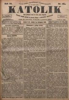 Katolik, 1900, R. 33, nr 130