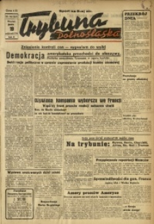 Trybuna Dolnośląska, 1946, R. 2, nr 206