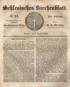 Schlesisches Kirchenblatt, 1848, Jg. 14, nr 32