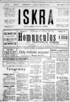 Iskra. Dziennik polityczny, społeczny i literacki, 1918, R. 9, nr 119