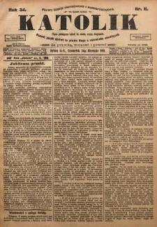 Katolik, 1901, R. 34, nr 11