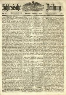 Schlesische Zeitung, 1851, Nr. 217