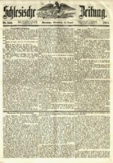 Schlesische Zeitung, 1851, Nr. 240