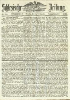 Schlesische Zeitung, 1851, Nr. 255