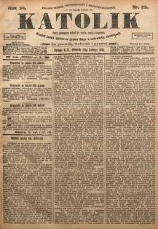 Katolik, 1901, R. 34, nr 25