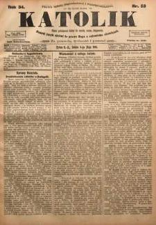 Katolik, 1901, R. 34, nr 53