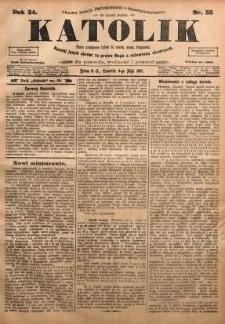 Katolik, 1901, R. 34, nr 55