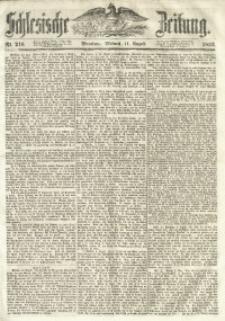 Schlesische Zeitung, 1852, Nr. 216