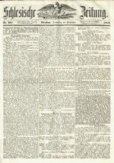 Schlesische Zeitung, 1852, Nr. 247