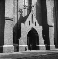 Opole. Plac Katedralny - Katedra Podwyższenia Krzyża Świętego.