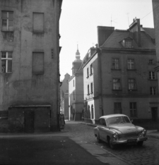 Opole. Stare Miasto, ulica Franciszkańska.