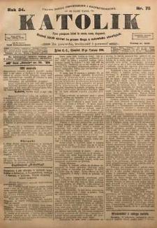 Katolik, 1901, R. 34, nr 75