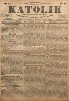 Katolik, 1901, R. 34, nr 76