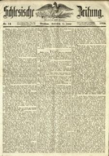 Schlesische Zeitung, 1853, Nr. 12