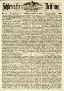 Schlesische Zeitung, 1853, Nr. 42