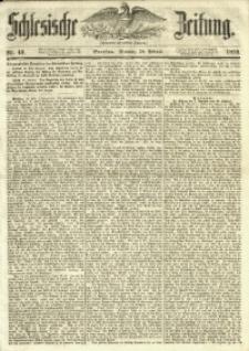 Schlesische Zeitung, 1853, Nr. 43
