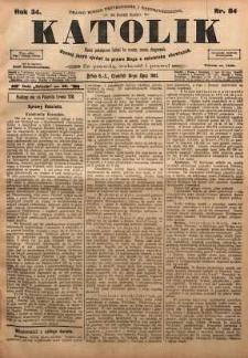 Katolik, 1901, R. 34, nr 84