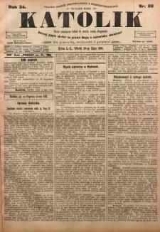 Katolik, 1901, R. 34, nr 89