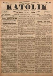 Katolik, 1901, R. 34, nr 98