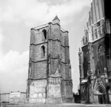 Nysa. Dzwonnica Bazyliki św. Jakuba Apostoła i św. Agnieszki.