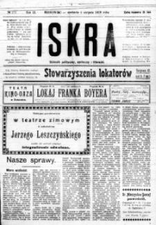 Iskra. Dziennik polityczny, społeczny i literacki, 1918, R. 9, nr 175