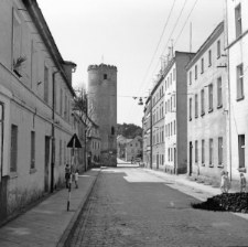 Paczków. Ulica gen. Władysława Sikorskiego.
