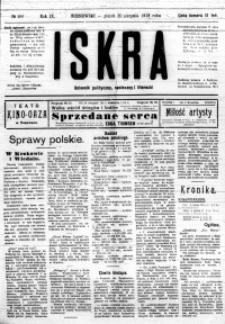Iskra. Dziennik polityczny, społeczny i literacki, 1918, R. 9, nr 196